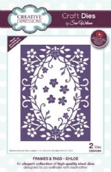 CED4354 - Creative Expressions Dies by Sue Wilson - Frames and Tags Collection - Chloe Die